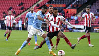 Sheffield United v Manchester City - Premier League - Bramall Lane
