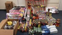 Gardaí seize €35k of fireworks over Halloween period
