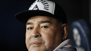 Diego Maradona admitted to hospital with signs of depression