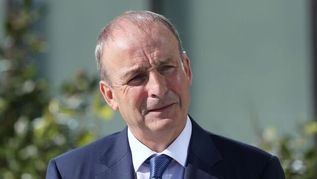 <p>Taoiseach Micheál Martin described the meeting as 'very useful and constructive'. File Picture: Sasko Lazarov/Rollingnews.ie</p>