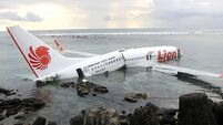 Passengers injured as Bali plane skids into sea