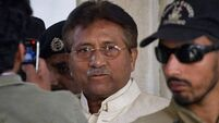 Former Pakistan president flees court after bail withdrawn