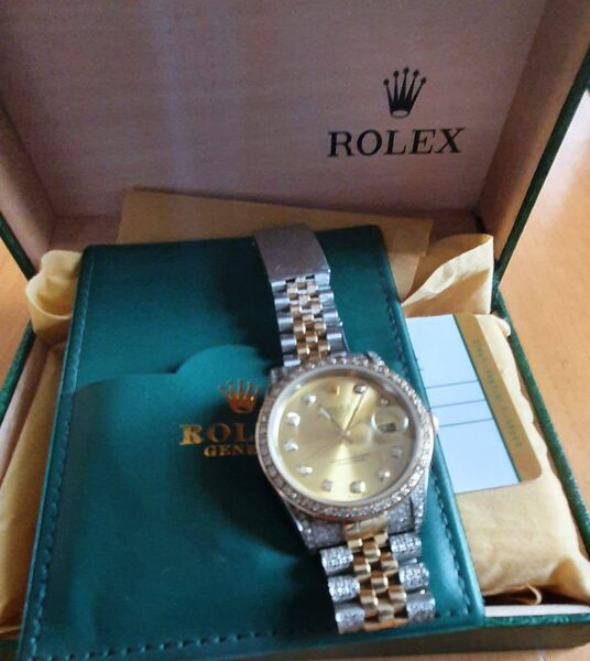 A rolex seized by gardaí during yesterday's operation.       Picture: Garda Info/Facebook
