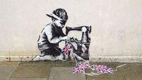 Banksy mural up for sale again