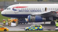 BA plane in emergency landing drama