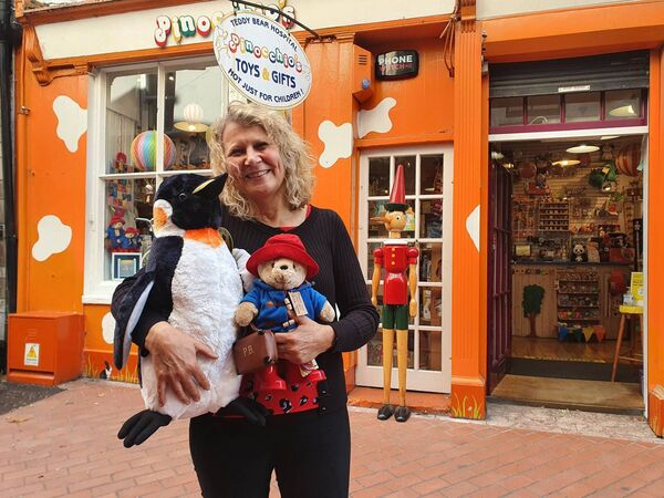 Christel Stansfeld, owner Pinocchio's toy store.