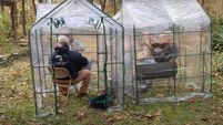 Daughter buys tiny greenhouses so father and friends can continue playing together