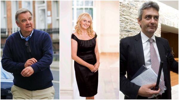 Bryan Dobson, Miriam O'Callaghan and David McCullagh have apologised for their lapse of judgement.
