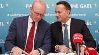 File Photo The government has confirmed Tánaiste Leo Varadkar intervened to ensure foreign affairs minister Simon Coveney could