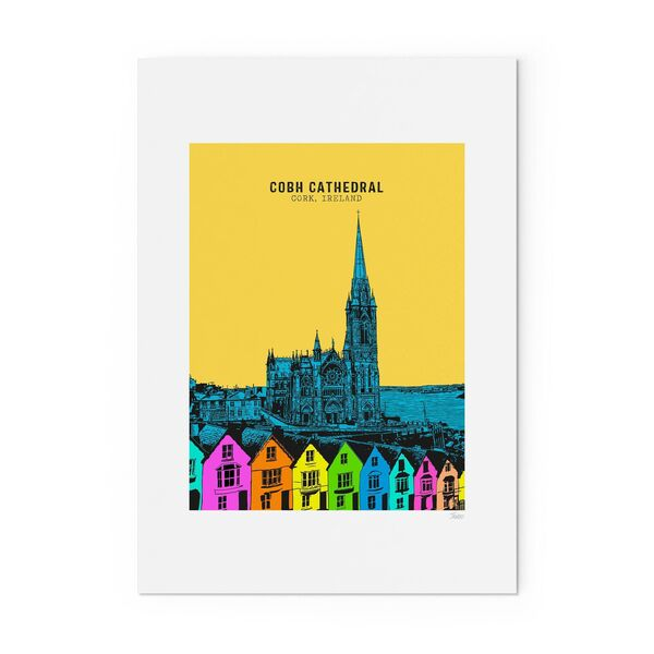 Jando specialises in prints of Irish landmarks.