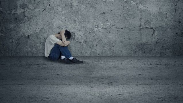 <p>The rates for self-harm are highest among younger people. File picture</p>