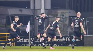Dundalk's Jordan Flores in the running for Fifa's Puskas Award for best goal