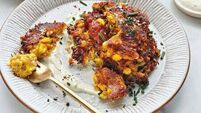 Quick and easy dinners: Neven Maguire's Sweetcorn and Chorizo Fritters