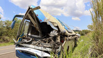 Bus collision on Sao Paulo highway leaves dozens dead