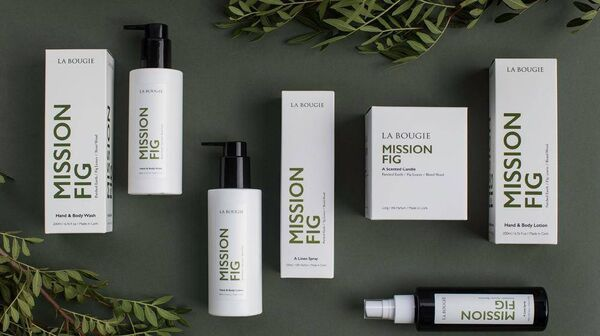 La Bougie's best-selling Mission Fig range.