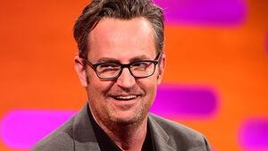 Could we be any more pleased: Friends star Matthew Perry gets engaged