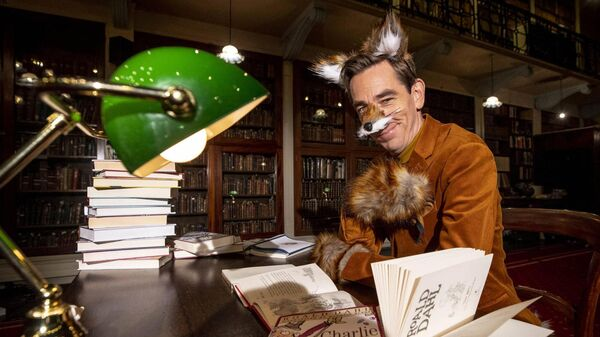 RTÉ presenter Ryan Tubridy channelling Fantastic Mr Fox for the opening number of The Late Late Toy Show 2020. Picture: Andres Poveda