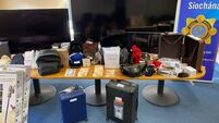 €100,000 worth of stolen property and €32,900 in cash seized in Dublin