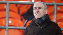 Mickey Harte attends the game 15/11/2020