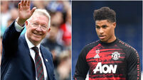 Alex Ferguson hails Marcus Rashford and makes child food poverty pledge
