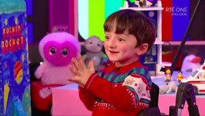 Inspiring Adam and Saoirse among stars of an emotional Late Late Toy Show