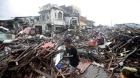 Typhoon death toll tops 5,000
