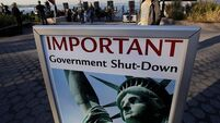 US government shutdown 'could last for weeks'
