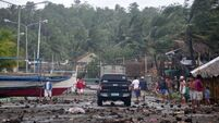 Massive storm leaves at least four dead in Philippines