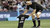 All Blacks honour Maradona, then crush Argentina