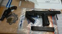 Man arrested as gardaí seize firearms and €100,000 worth of suspected drugs