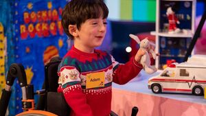 Nasa tells Toy Show's Adam 'we can't wait for him to one day join our team of dreamers'