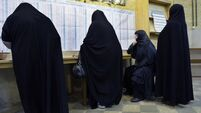 Polls close in Iranian presidential elections