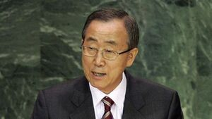 UN chief: Sending arms to Syria 'not helpful'