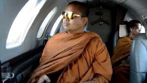 Jet-set monks warned after video exposes lavish lifestyle