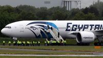 Egypt plane makes emergency landing in Scotland