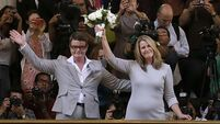California gay marriage case couple wed an hour after verdict