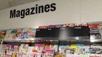 UK retail group gives lads' mags deadline to cover up