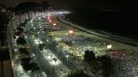 Copacabana stages show for pope