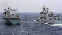 China stages joint naval drills with Russia