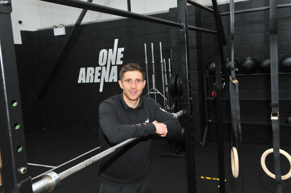 Edward Finn, owner of One Arena gym. Picture: Larry Cummins