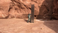 Metal monolith discovered in Utah
