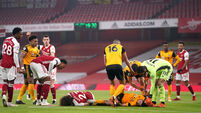 Arsenal v Wolverhampton Wanderers - Premier League - Emirates Stadium