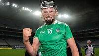 Gearoid Hegarty celebrates after the game 29/11/2020