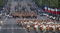 African troops open Bastille Day parade in Paris