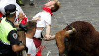 Three gored in Pamplona bull run