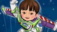 Adam to Star Command! Toy Show star transformed into famous space ranger