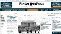 'Syrian' hackers hit NYT website