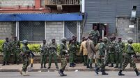 Soldiers prepare to clear Kenya mall of booby traps as more deaths feared
