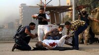 Egyptian troops storm Islamist town