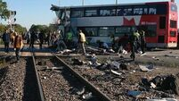 Five dead as bus and train crash in Canada